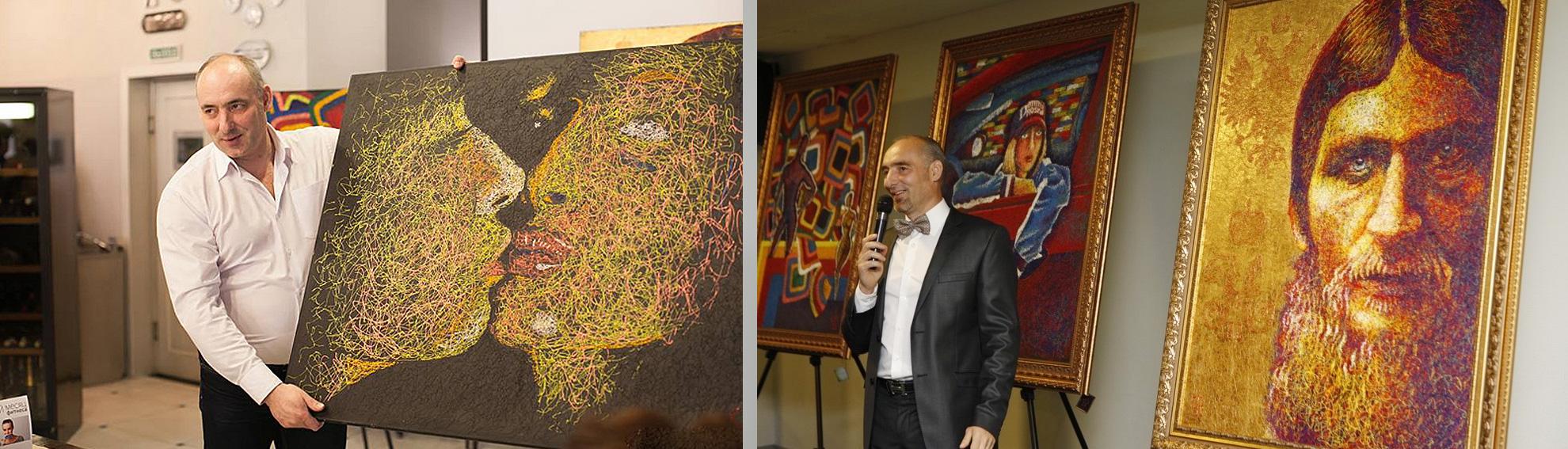 Галерея тюменского художника-филумиста Игоря Рязанцева