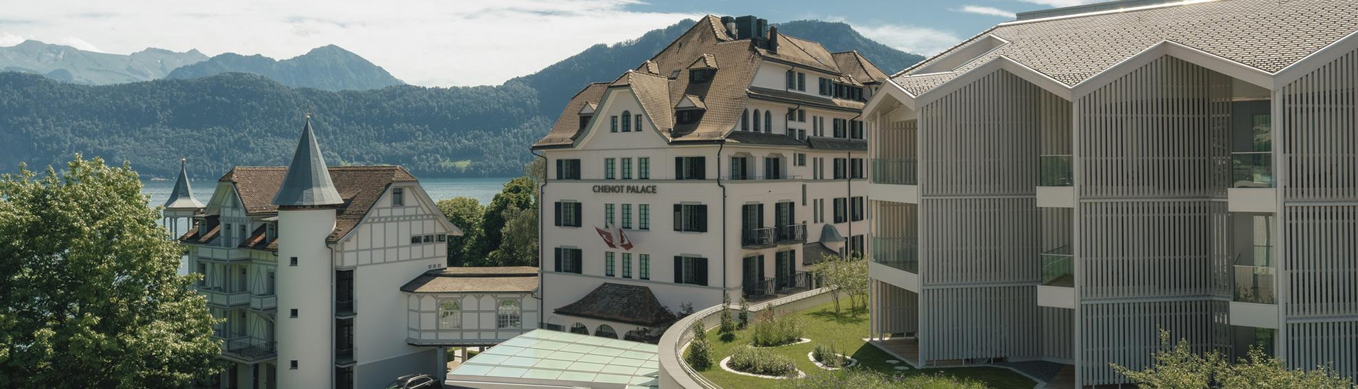Chenot Palace Weggis 5* Швейцария